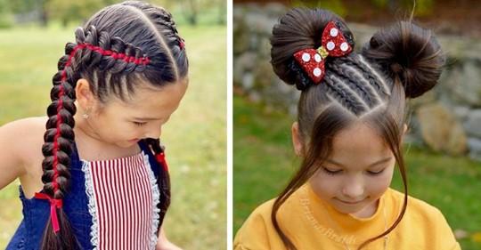 Mutter zweier Mädchen flicht aus Leidenschaft ausgefeilte und fantasievolle Zöpfe: Ihr Talent explodiert im Internet