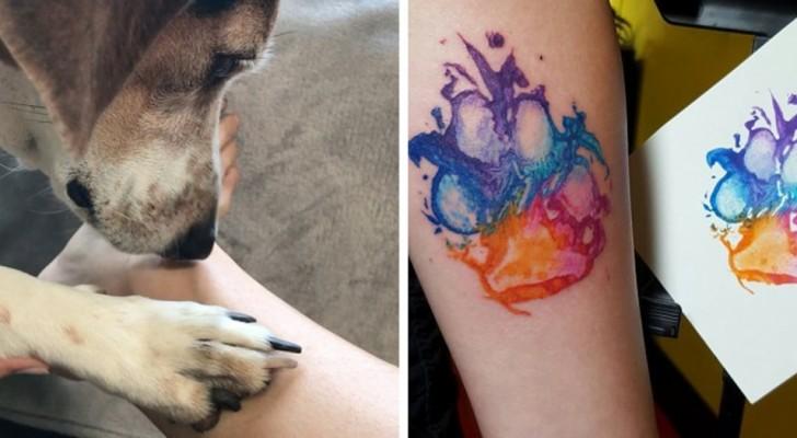 Diese Tattoos, die dem vierbeinigen Freund gewidmet sind, werden dich dazu bringen, auch ein zu wollen