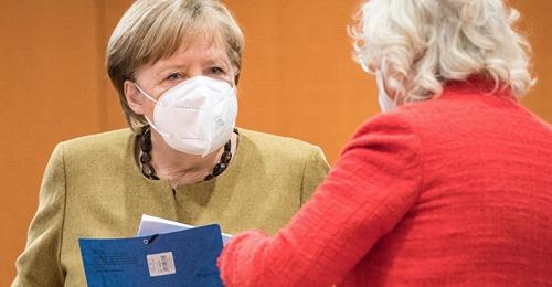 Angela Merkel: Bundesweiter Knallhart-Lockdown könnte noch bis Juni dauern