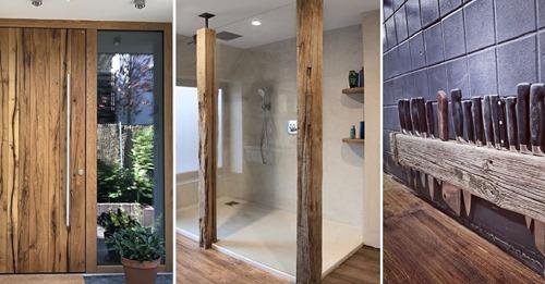 Holz ist nachhaltig und lässt sich mit einer modernen Einrichtung kombinieren … 9 wirklich prächtige Ideen mit Holz!