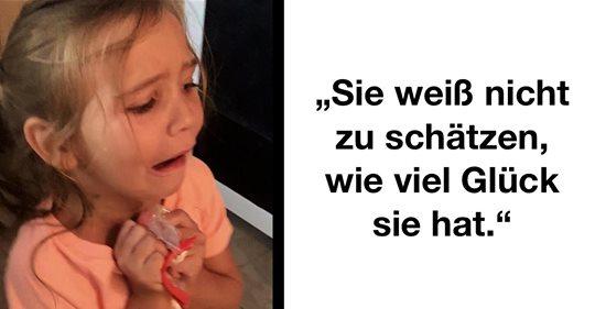 Mama erteilt undankbarer Tochter Lektion wegen Federmappe