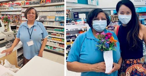 """Kassiererin gibt ihre letzten 20 $ aus, um einer Kundin ohne Geld zu helfen: """"Ich wusste, dass es das Richtige war."""""""