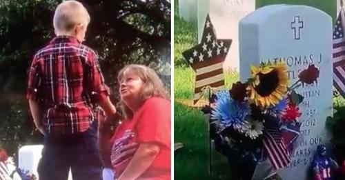 Trauernde Mutter konfrontiert Jungen, der ständig am Grab ihres Sohnes auftaucht