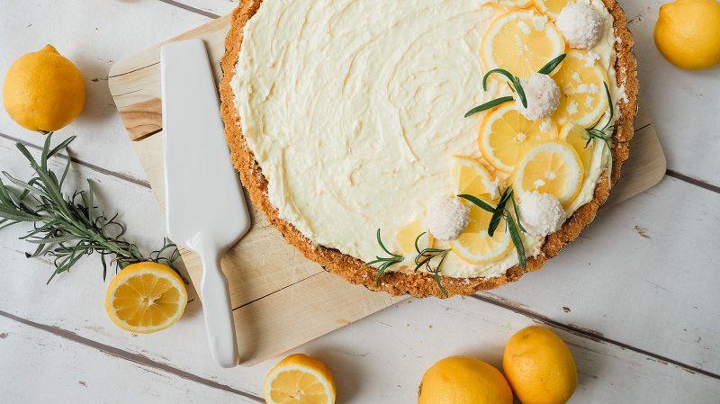 Zitronen Kokos Tarte
