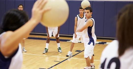 Forscher fordern: Völkerball muss an Schulen verboten werden