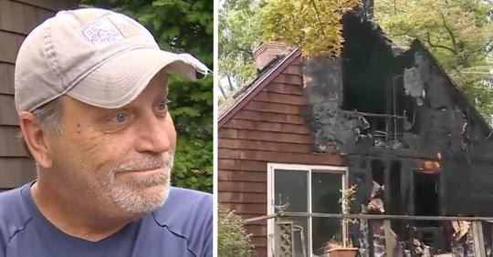 Mann rettet Nachbarin aus brennendem Haus – 20 Jahre nachdem seine Familie bei einem Brand ums Leben gekommen ist