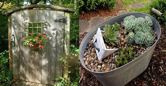 11 nette und einfache Gartenideen, die Sie direkt anwenden können.